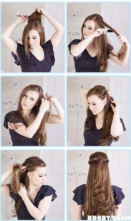 Новые прически на длинные волосы своими руками