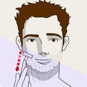 как бриться правильно