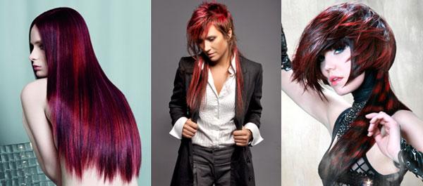 неполное креативное окрашивание волос