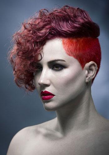 сегментное окрашивание волос