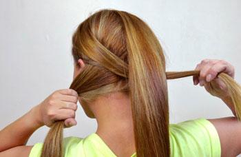 заплетаем косу своими руками