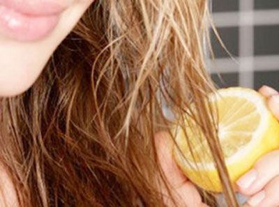 применение лимонной маски для волос