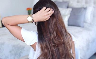 прическа на средние волосы пошагово