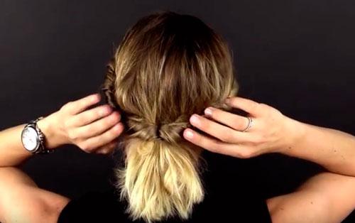 быстрые укладки на средние волосы