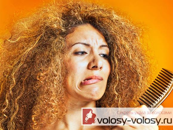 Как распутать волосы?