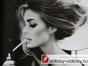 Как курение влияет на волосы