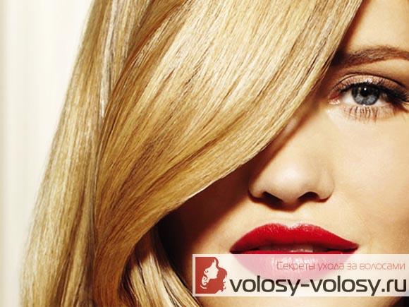 Маска для блеска волос