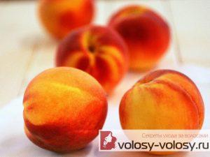 Маски с персиковым маслом для волос