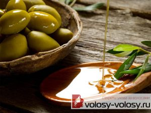 Оливковое масло для волос