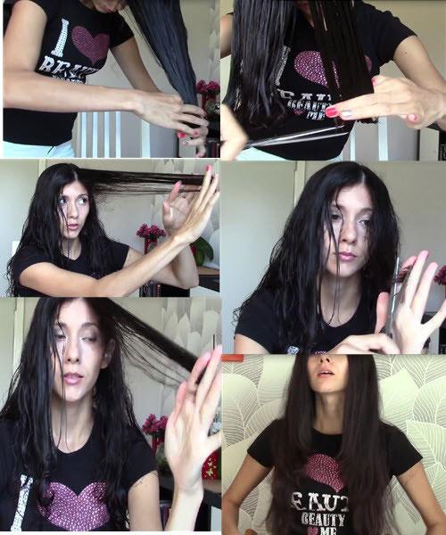 как подстричь волосы лесенкой